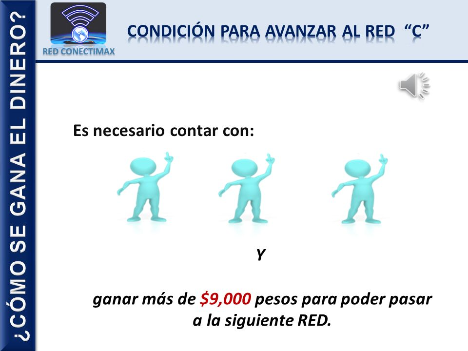 ¿CÓMO SE GANA EL DINERO CONDICIÓN PARA AVANZAR AL RED C