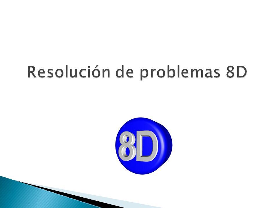 Resolución de problemas 8D