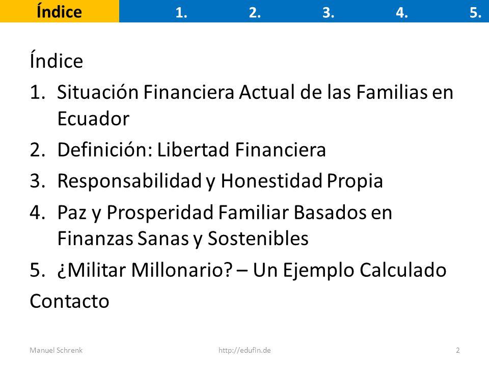 Situación Financiera Actual de las Familias en Ecuador
