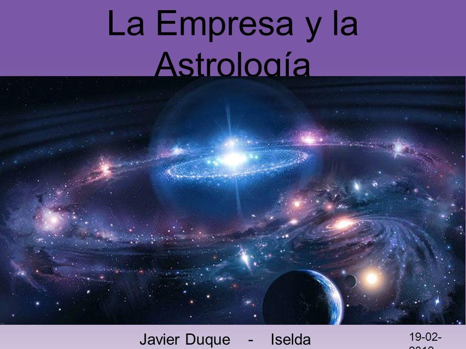 La Empresa y la Astrología