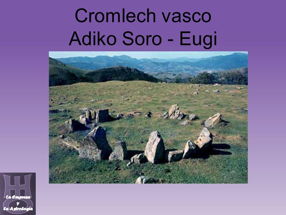 Cromlech vasco Adiko Soro - Eugi