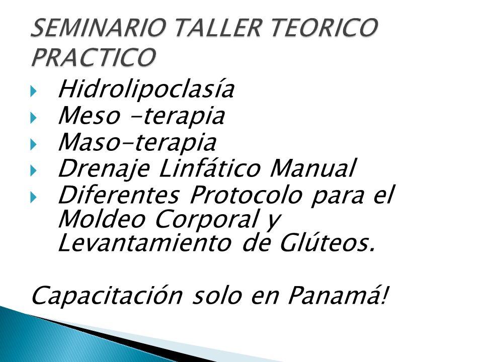 SEMINARIO TALLER TEORICO PRACTICO