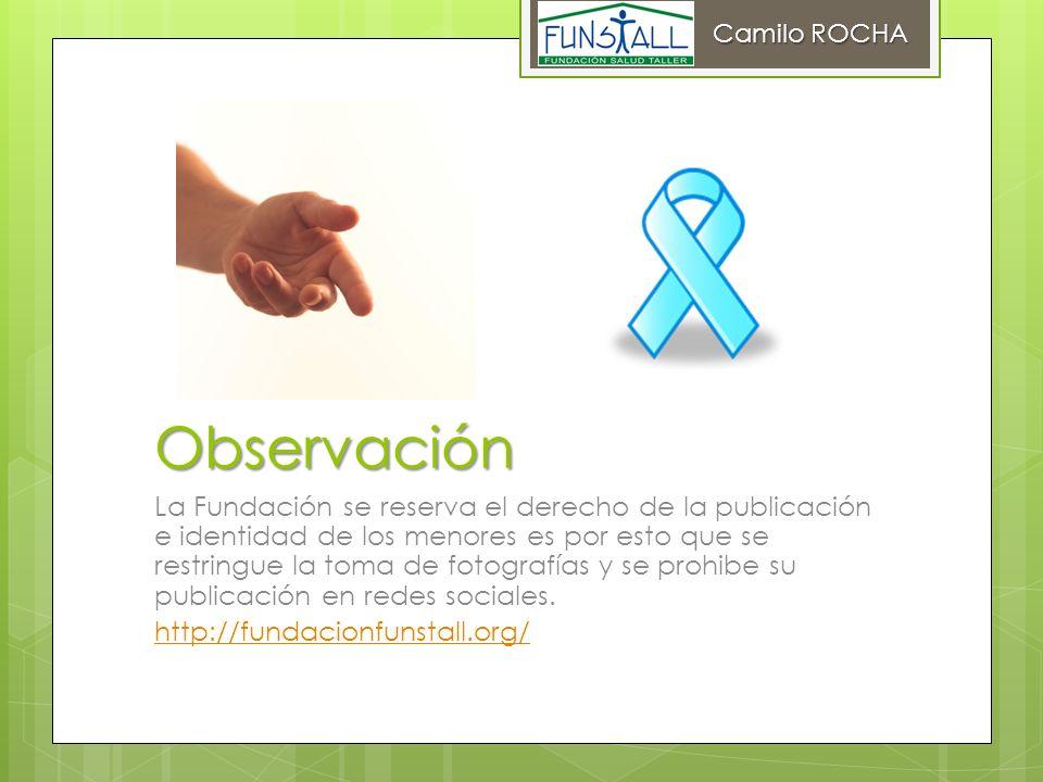 Camilo ROCHA Observación.