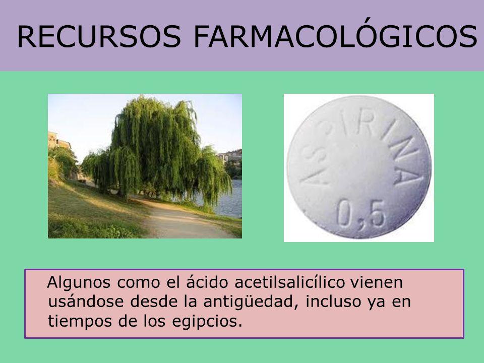 RECURSOS FARMACOLÓGICOS