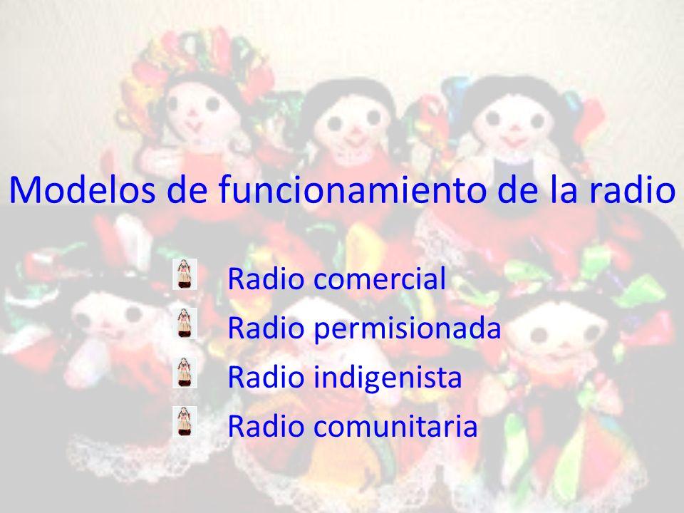 Modelos de funcionamiento de la radio