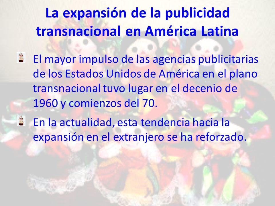 La expansión de la publicidad transnacional en América Latina