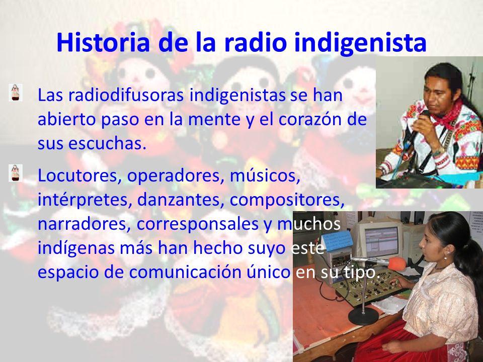 Historia de la radio indigenista