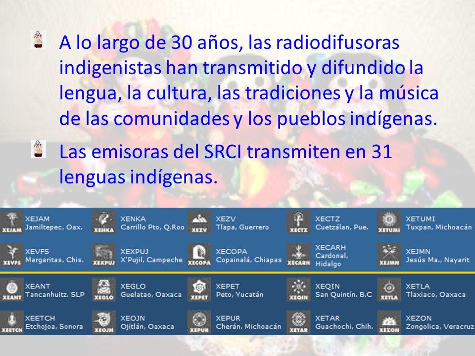 A lo largo de 30 años, las radiodifusoras indigenistas han transmitido y difundido la lengua, la cultura, las tradiciones y la música de las comunidades y los pueblos indígenas.