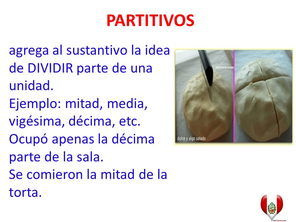 PARTITIVOS