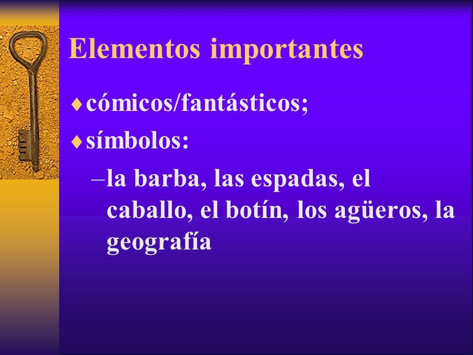 Elementos importantes