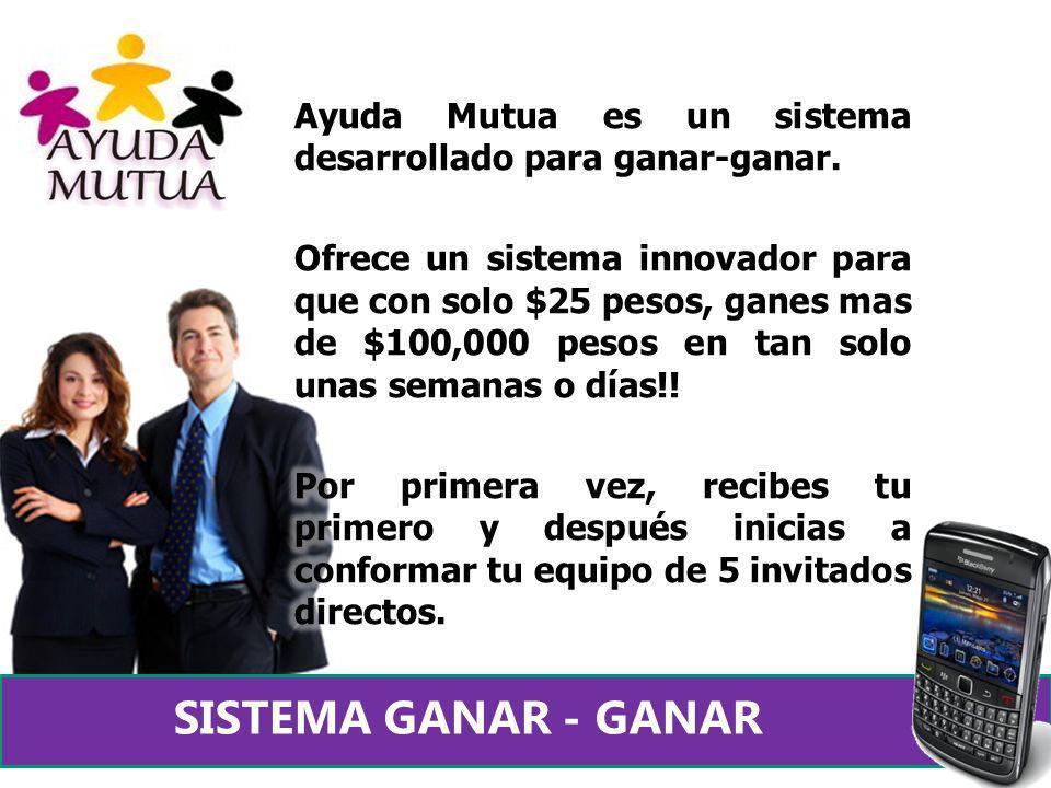 Ayuda Mutua es un sistema desarrollado para ganar-ganar.