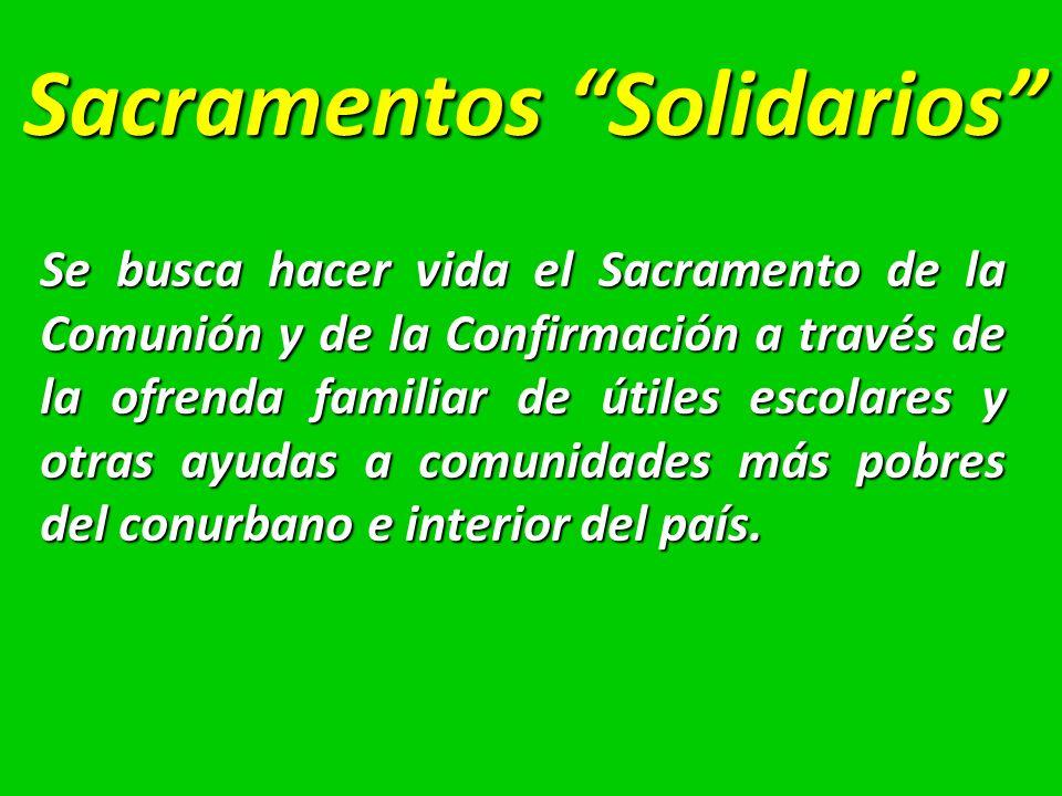 Sacramentos Solidarios