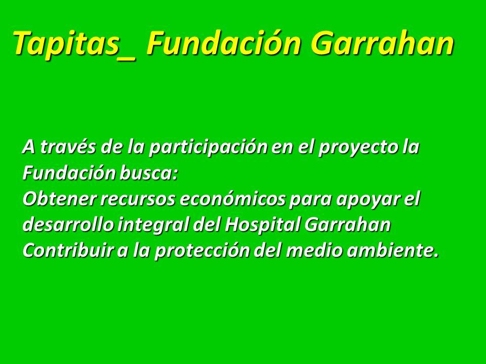 Tapitas_ Fundación Garrahan
