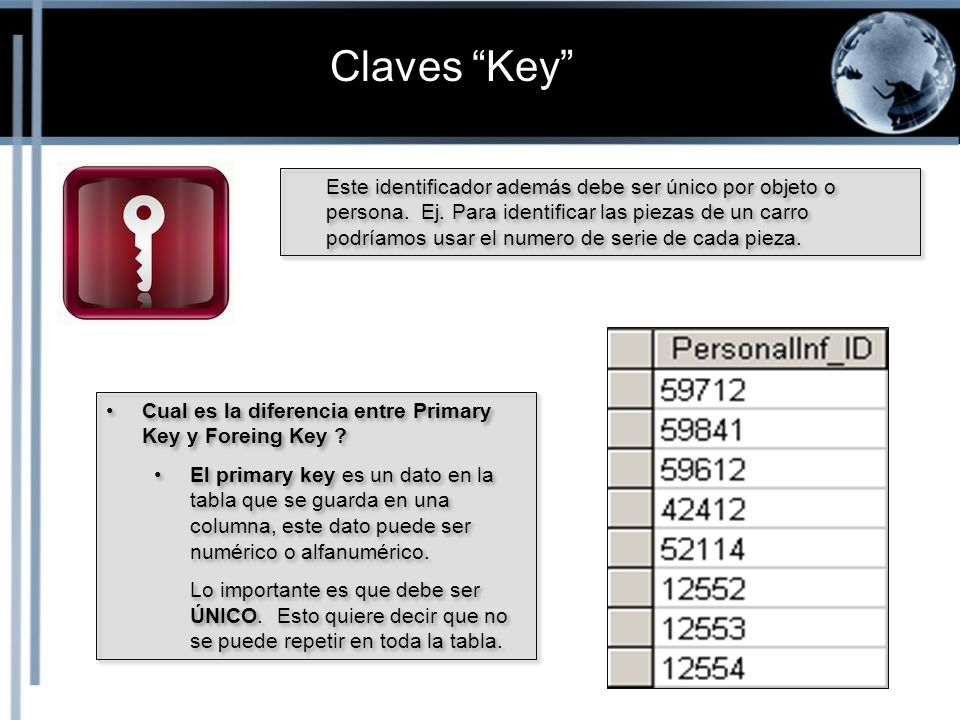 Claves Key