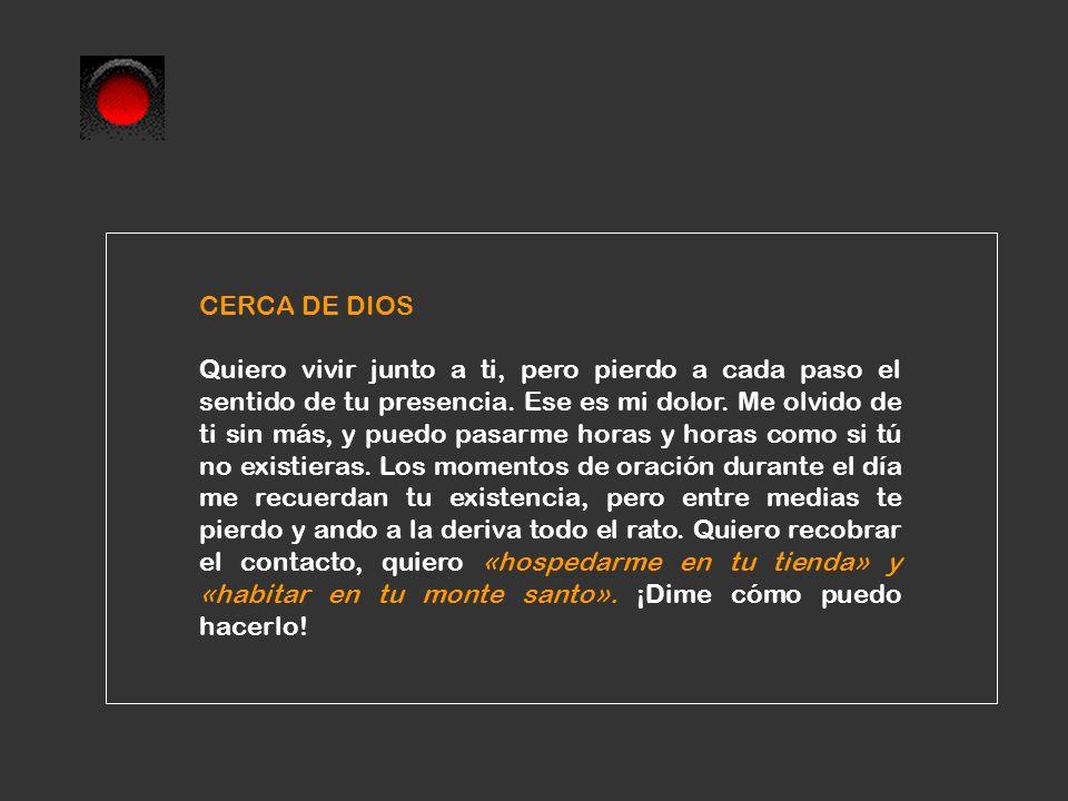 CERCA DE DIOS