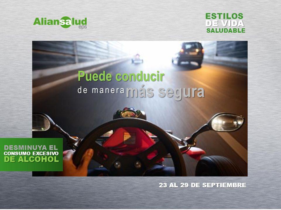 más segura Puede conducir de manera DE VIDA ESTILOS DE ALCOHOL