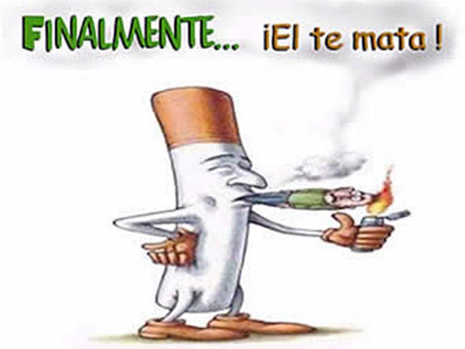 Fumar es un hábito muy difícil de abandonar porque. el tabaco contiene nicotina, que es altamente adictiva.