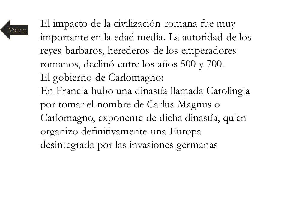 El gobierno de Carlomagno: