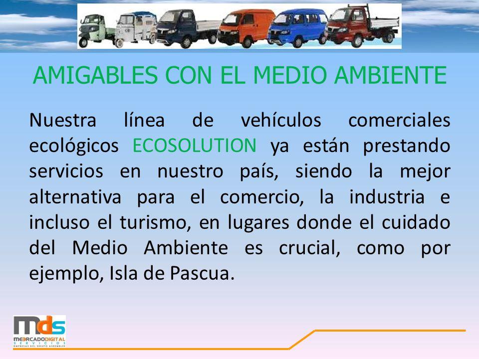 AMIGABLES CON EL MEDIO AMBIENTE