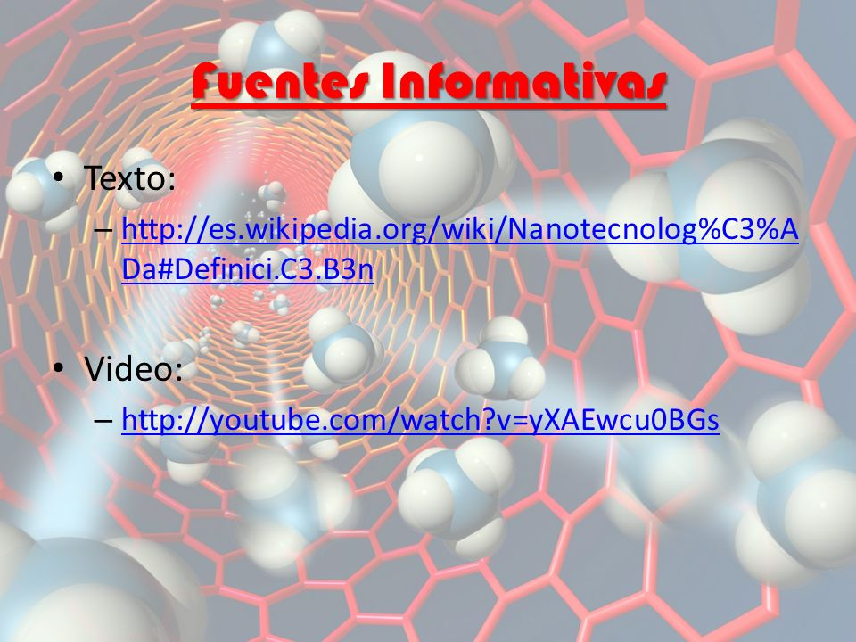 Fuentes Informativas Texto: Video: