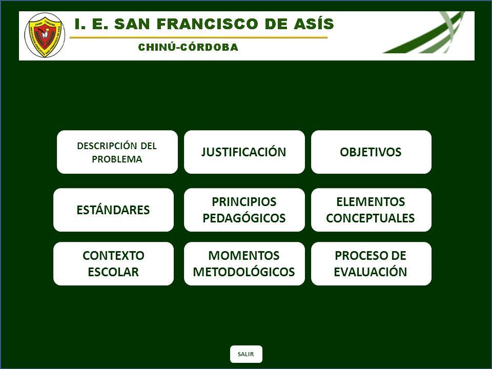 PRINCIPIOS PEDAGÓGICOS ELEMENTOS CONCEPTUALES