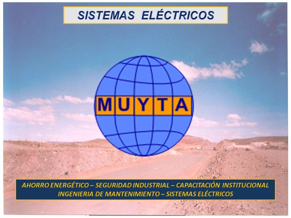 SISTEMAS ELÉCTRICOSAHORRO ENERGÉTICO – SEGURIDAD INDUSTRIAL – CAPACITACIÓN INSTITUCIONAL.