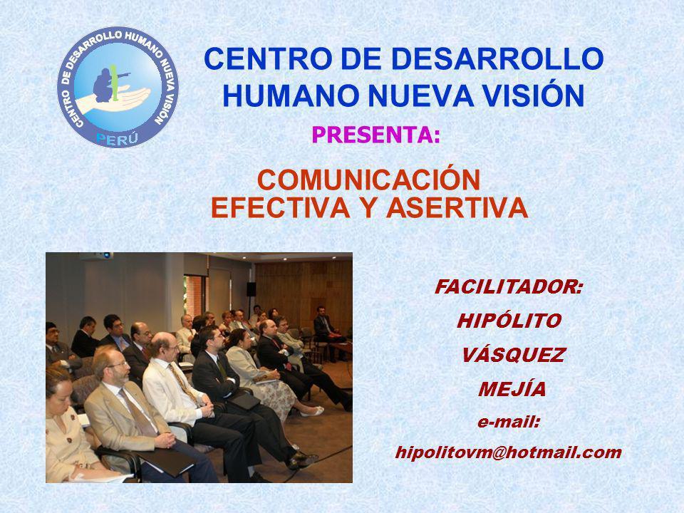 CENTRO DE DESARROLLO HUMANO NUEVA VISIÓN