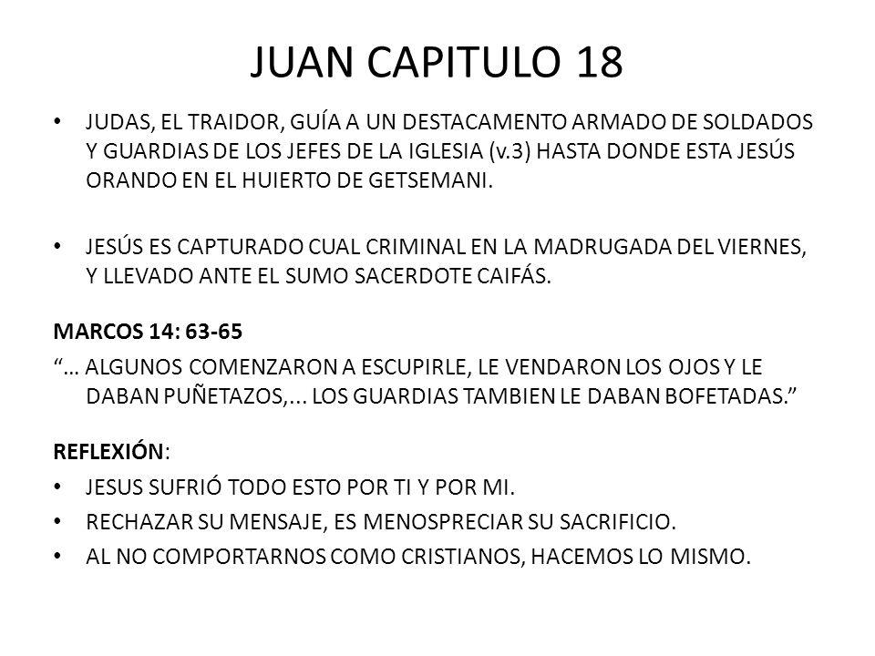 JUAN CAPITULO 18