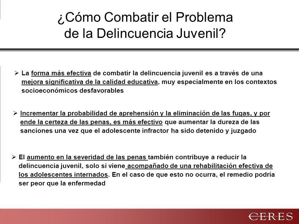 ¿Cómo Combatir el Problema de la Delincuencia Juvenil