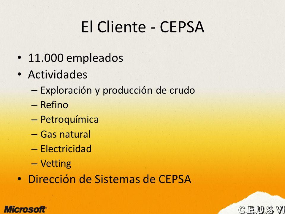 El Cliente - CEPSA 11.000 empleados Actividades