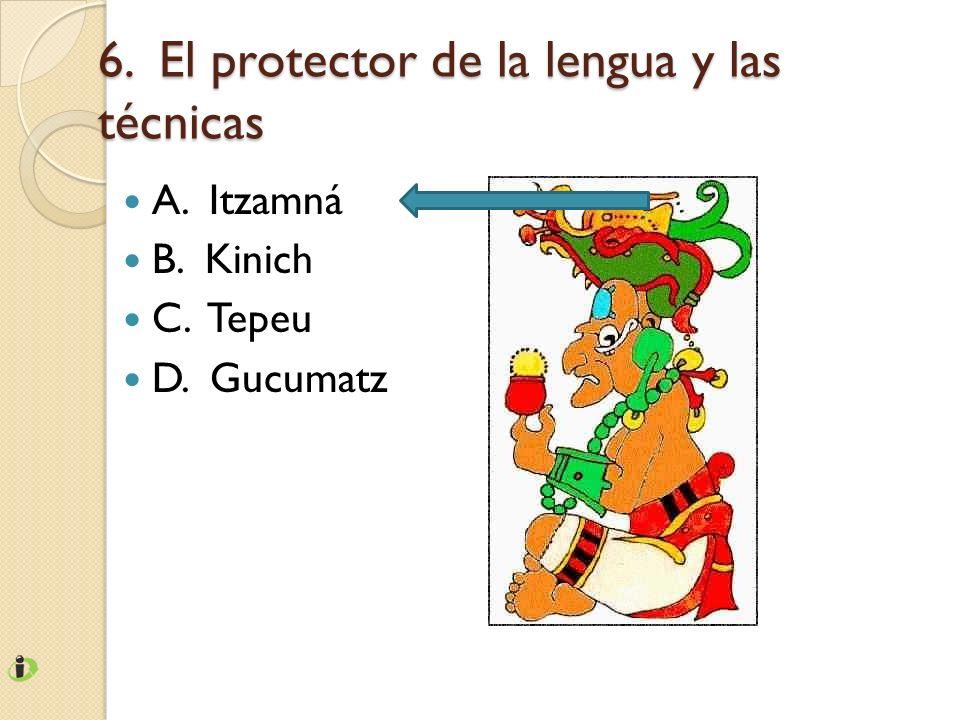6. El protector de la lengua y las técnicas