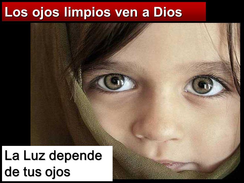 Los ojos limpios ven a Dios
