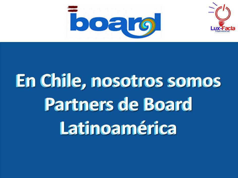 En Chile, nosotros somos Partners de Board Latinoamérica