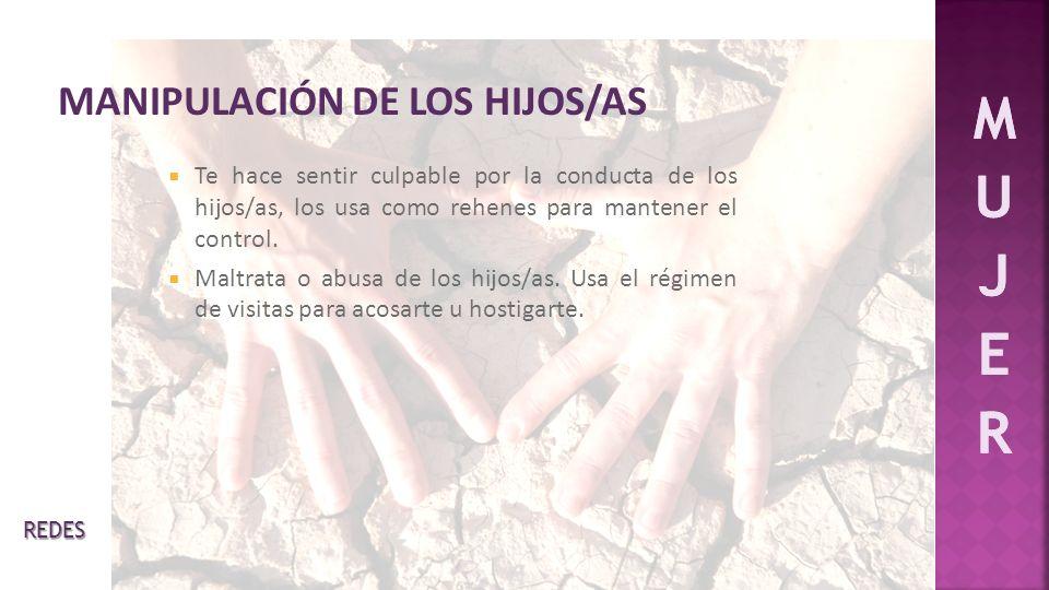 MANIPULACIÓN DE LOS HIJOS/AS