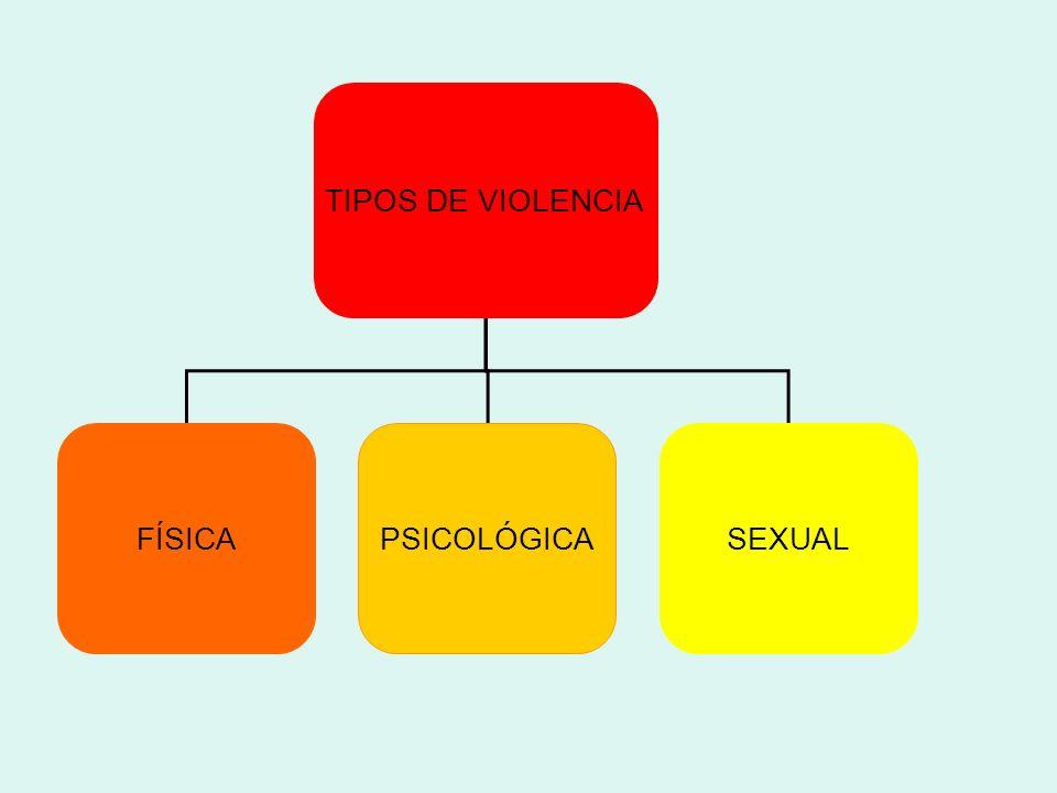 TIPOS DE VIOLENCIA FÍSICA PSICOLÓGICA SEXUAL 13