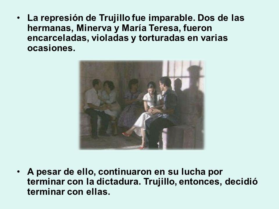 La represión de Trujillo fue imparable