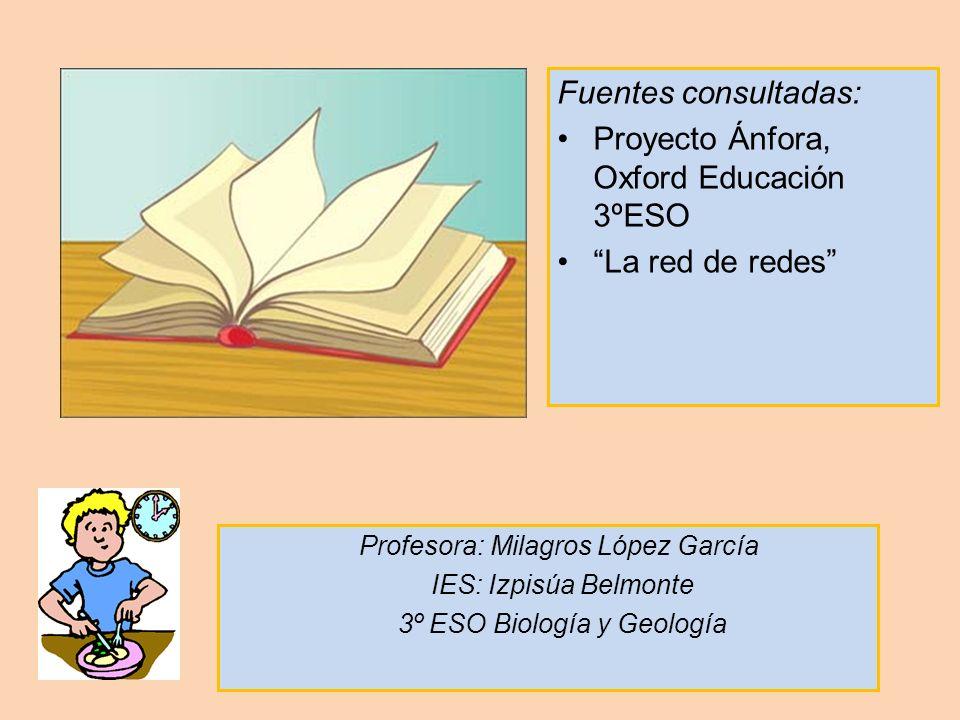 Proyecto Ánfora, Oxford Educación 3ºESO