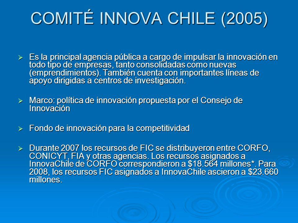 COMITÉ INNOVA CHILE (2005)