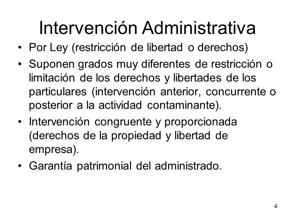 Intervención Administrativa