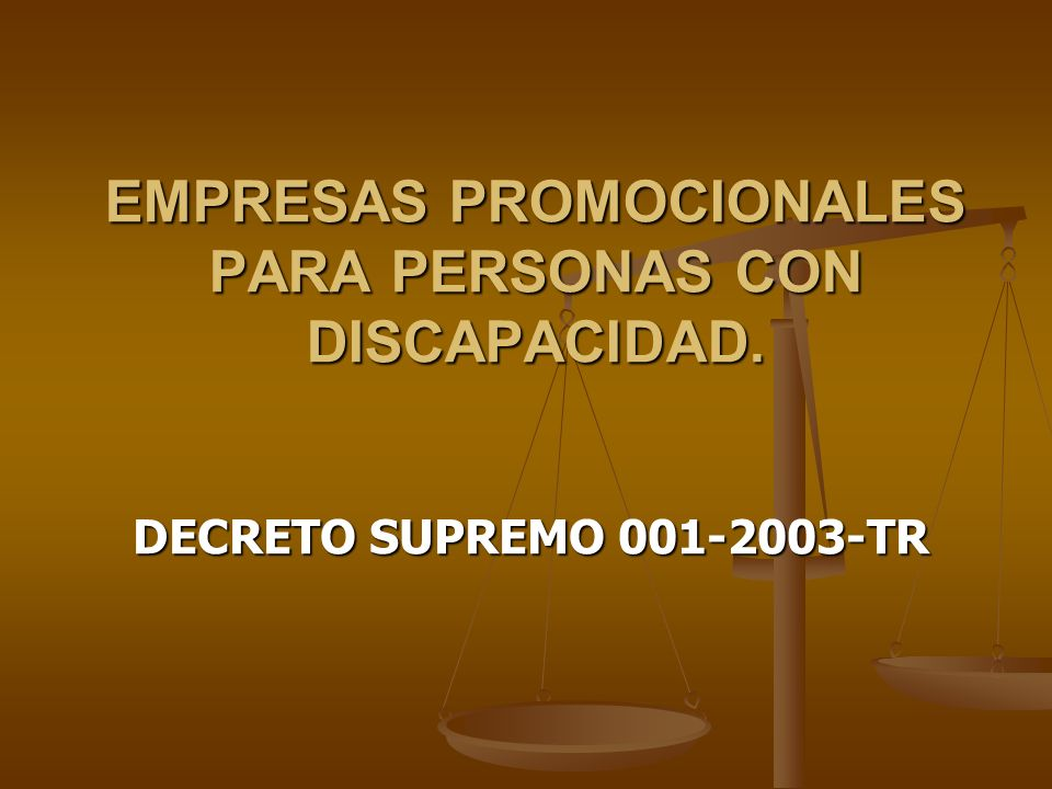 EMPRESAS PROMOCIONALES PARA PERSONAS CON DISCAPACIDAD.