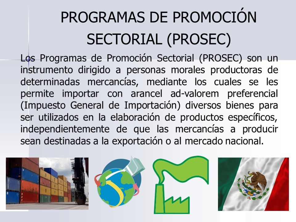 PROGRAMAS DE PROMOCIÓN