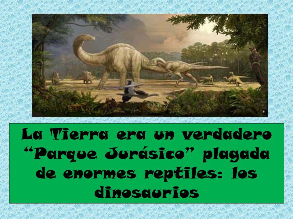 La Tierra era un verdadero Parque Jurásico plagada de enormes reptiles: los dinosaurios