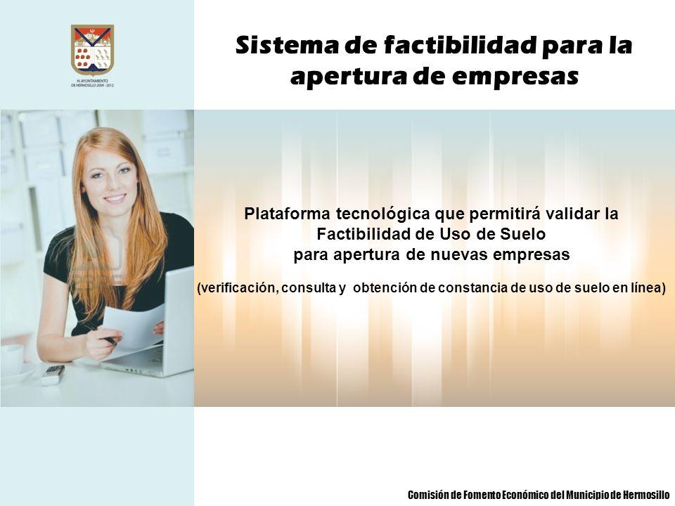 Sistema de factibilidad para la apertura de empresas