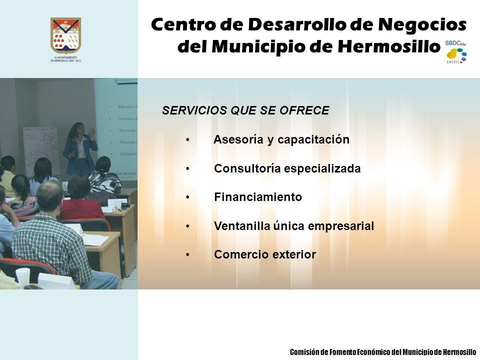 Centro de Desarrollo de Negocios del Municipio de Hermosillo