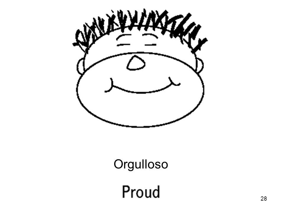 Orgulloso