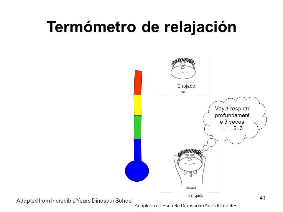 Termómetro de relajación