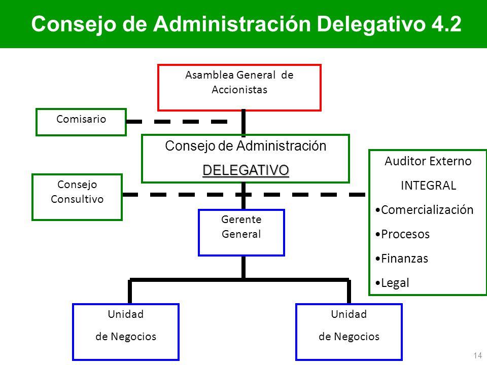 Consejo de Administración Delegativo 4.2