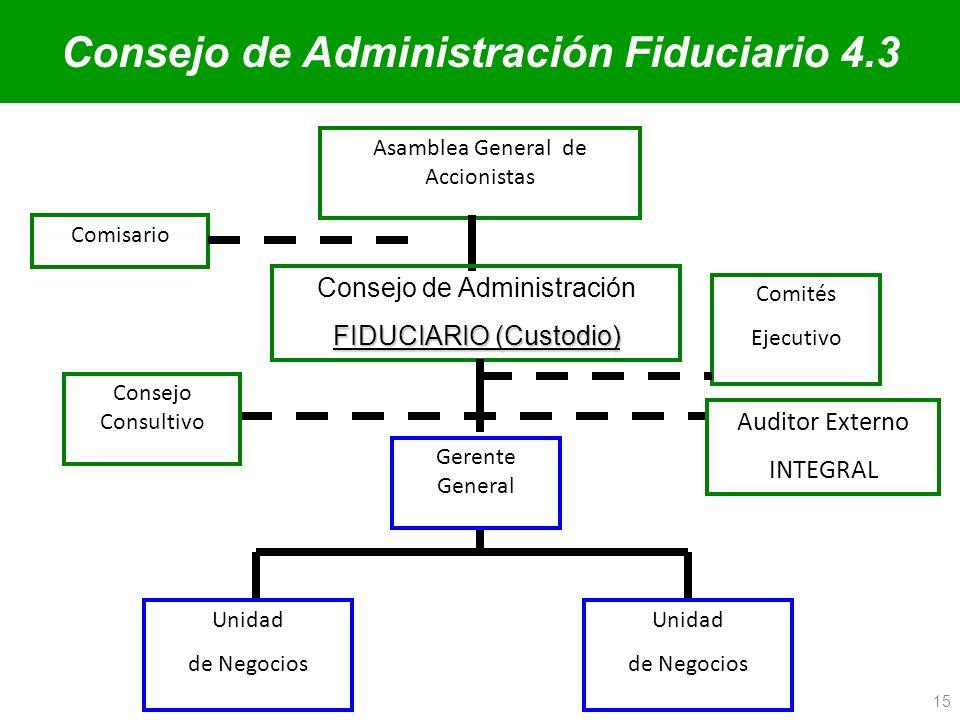 Consejo de Administración Fiduciario 4.3