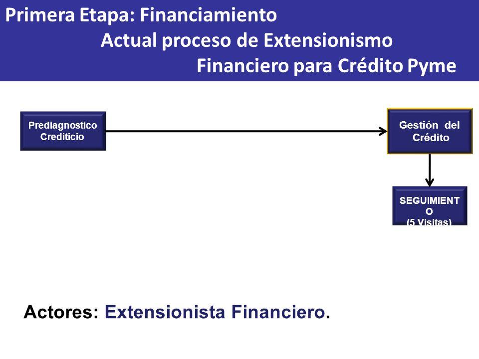 Primera Etapa: Financiamiento