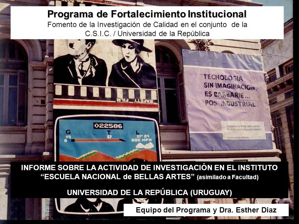 Programa de Fortalecimiento Institucional